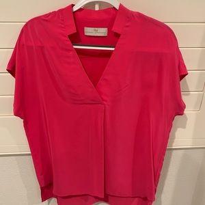 Pink Amanda Uprichard blouse - great condition!